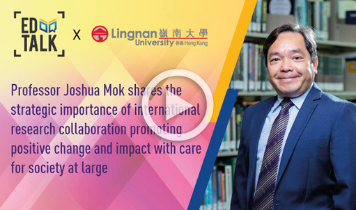 Prof Joshua Mok shares the strategic importance of international research collaboration promoting positive change and impact with care for society at large in the article for the SCMP newspaper