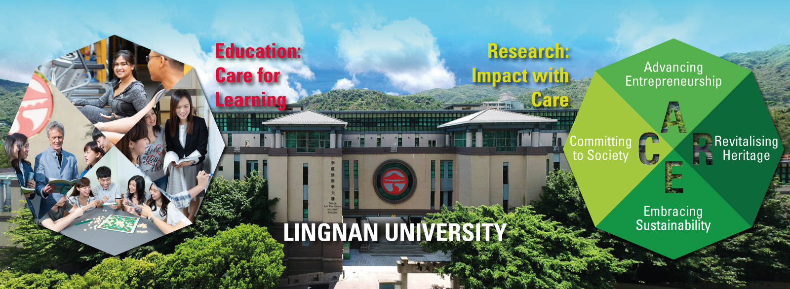 Lingnan University: Education: Care for Learning • Research: Impact with Care