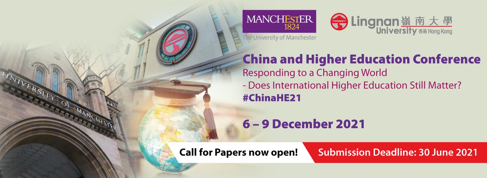 China and Higher Education Conference: Responding to a Changing World - Does International Higher Education Still Matter?