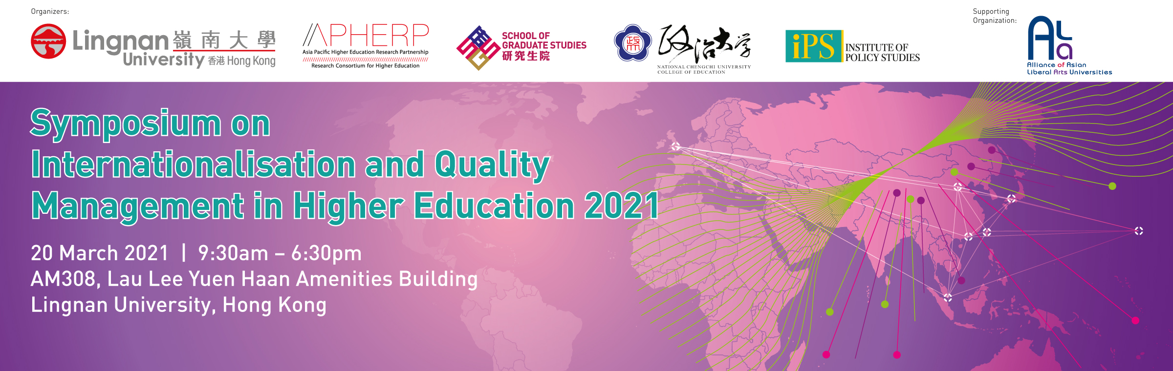 Symposium on Internationalisation and Quality Management in Higher Education 2021