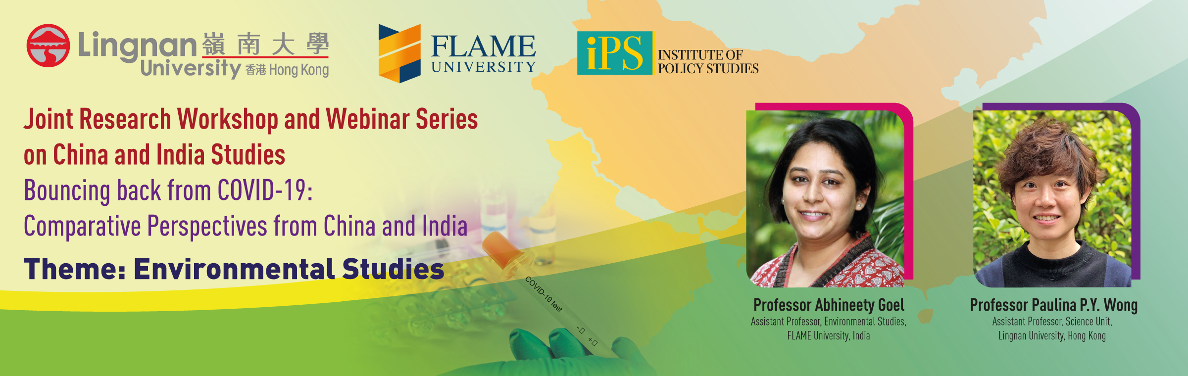 Environmental concerns in India and China in a time of COVID