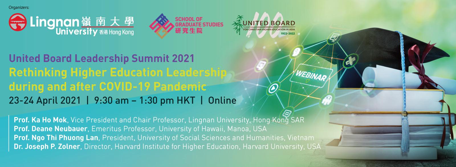 United Board Leadership Summit 2021